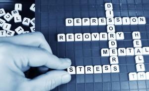 depression words stock