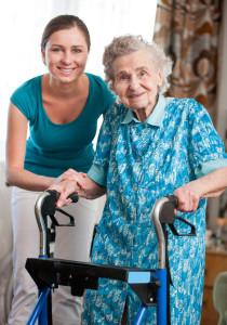 elder-woman-with-walker-stock
